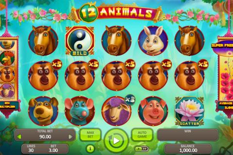animals booongo pacanele