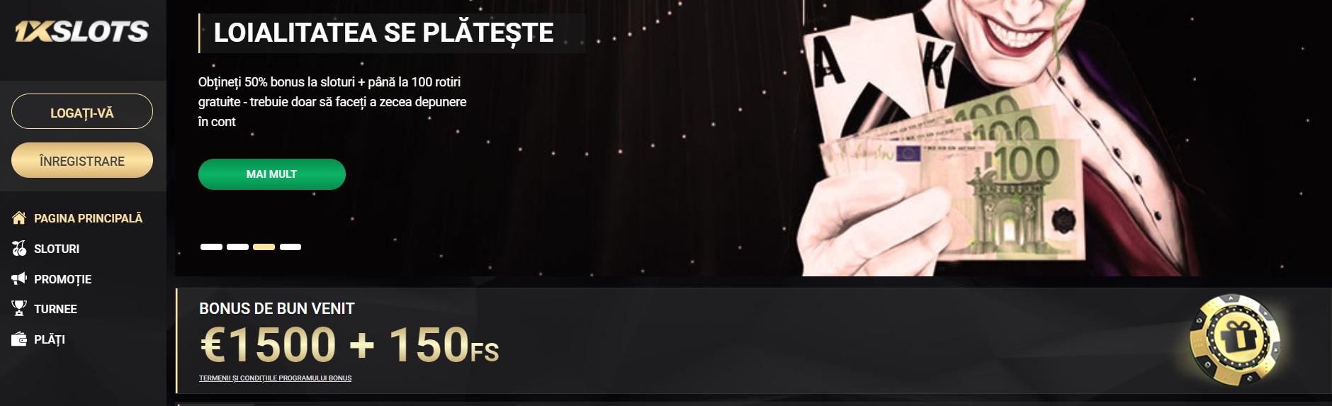1xSlots cazino