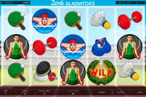 gladiators endorphina pacanele