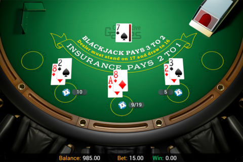 hand blackjack connective games online