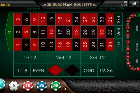 d european roulette iron dog ruleta