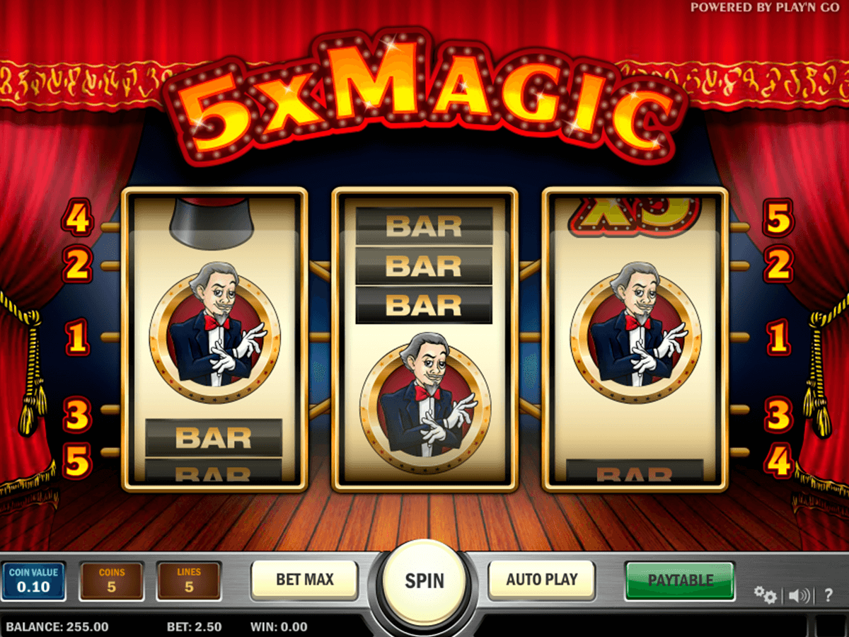 magic playn go pacanele