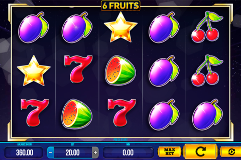 fruits synot games pacanele