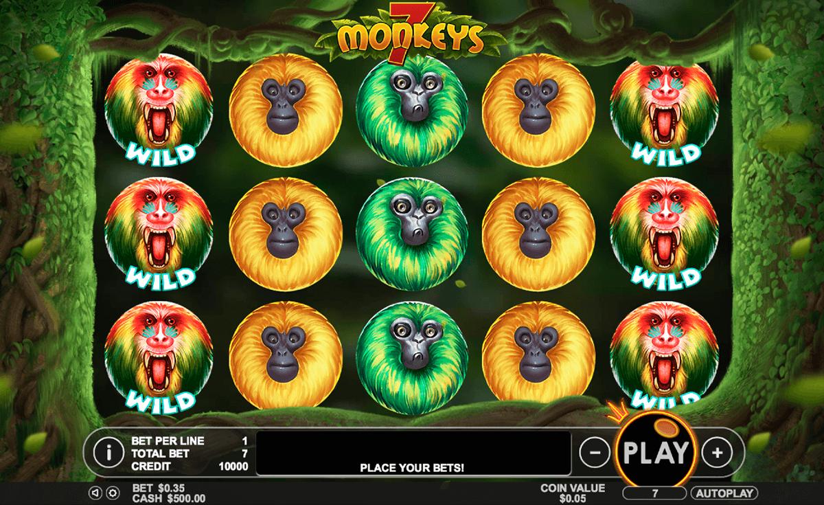 7 monkeys pragmatic pacanele