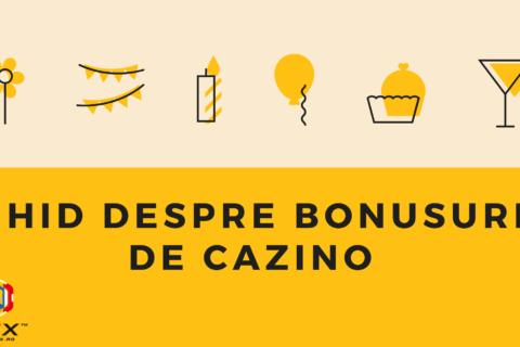 Ghid despre bonusuri de cazino