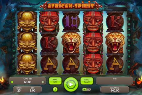 african spirit booongo pacanele