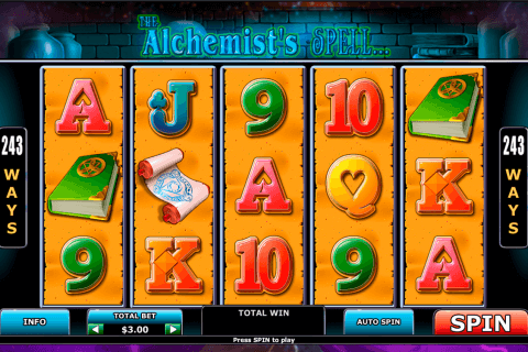 alchemists spell playtech pacanele
