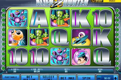 alien hunter playtech pacanele