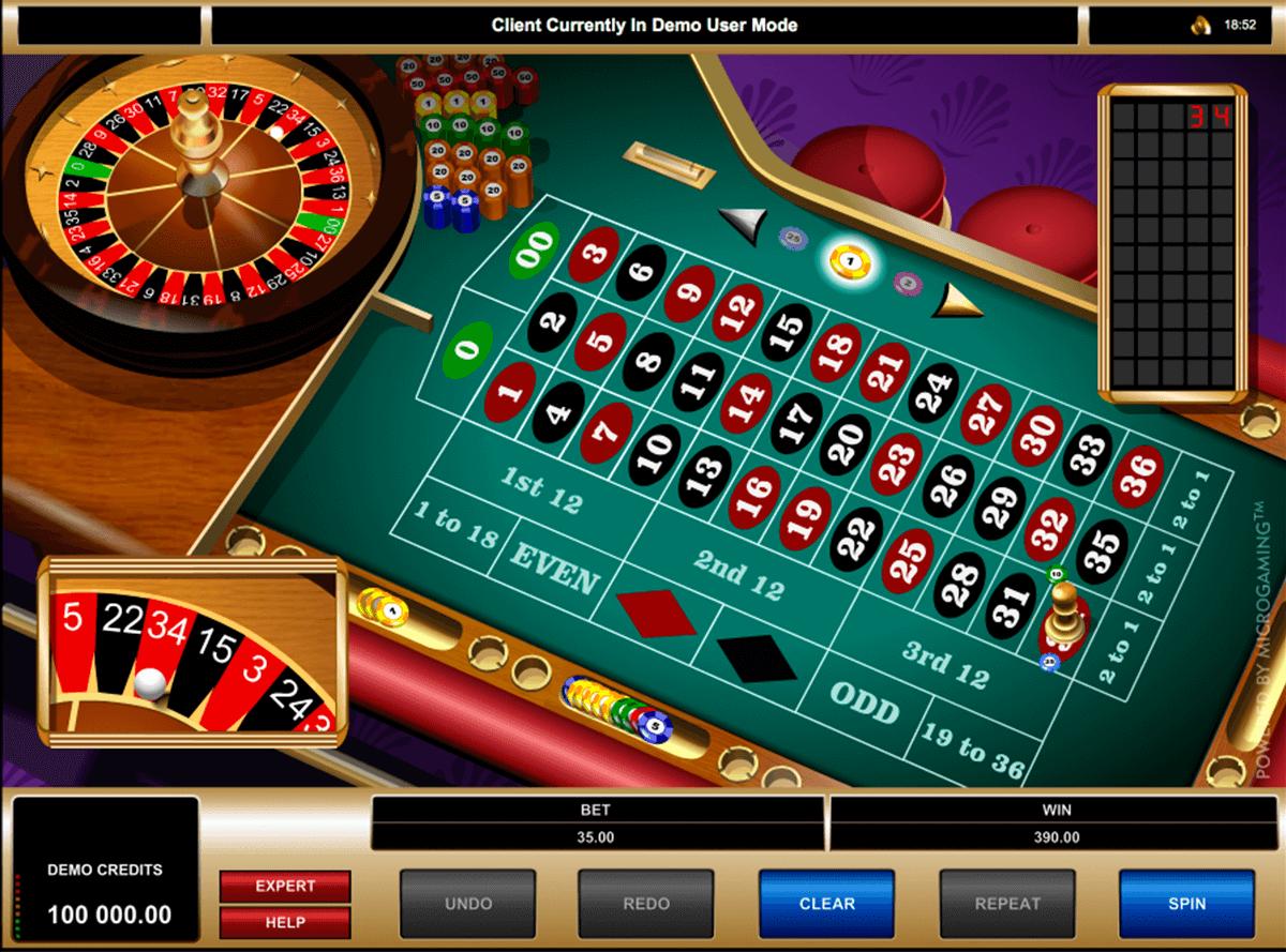 american roulette microgaming ruleta