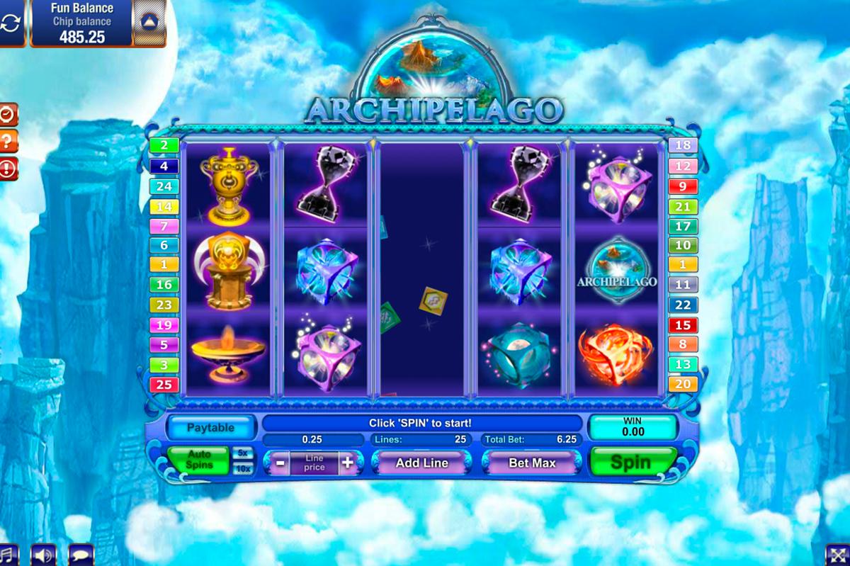 archipelago gamesos pacanele