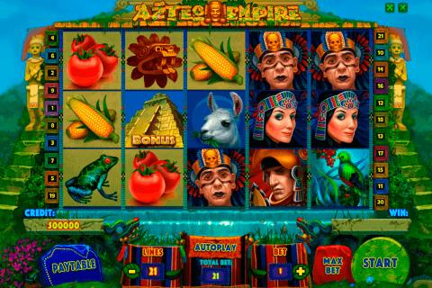 aztec empire playson pacanele