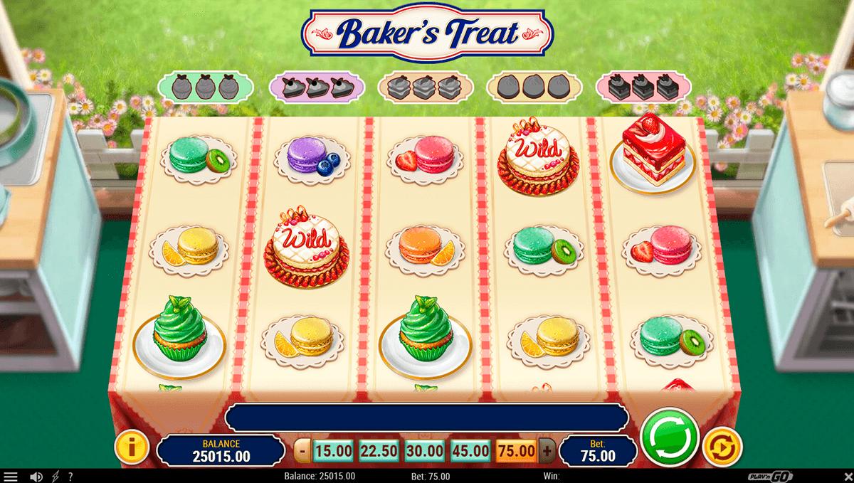 bakers treat playn go pacanele
