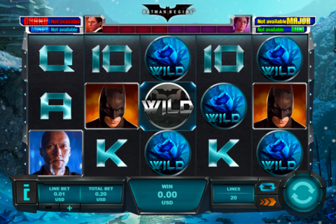 batman begins playtech pacanele