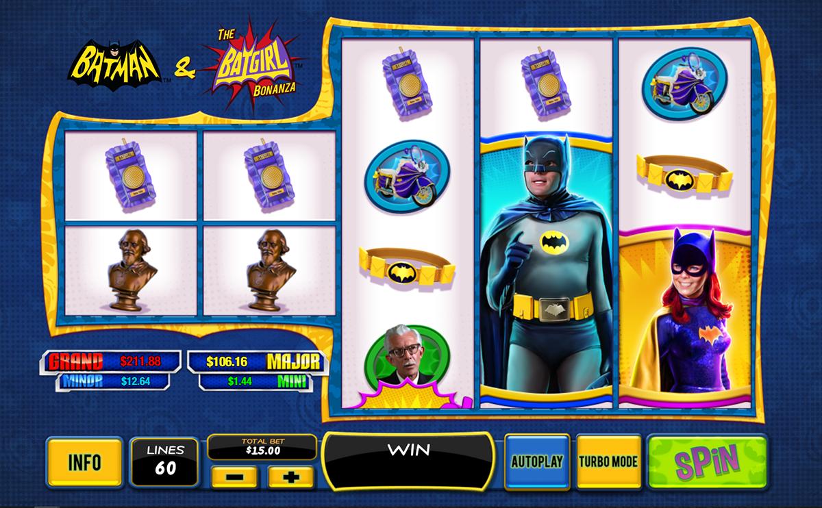batman the batgirl bonanza playtech pacanele