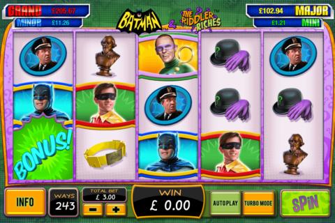 batman the riddler riches playtech pacanele