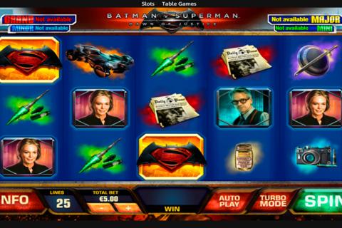 batman vs superman playtech pacanele