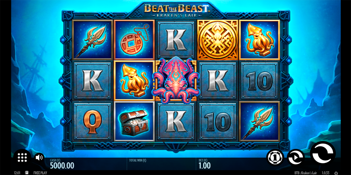 Spiele Beat The Beast Krakens Lair - Video Slots Online