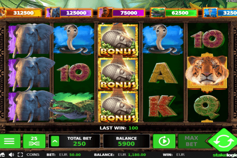 big  jungle jackpot stake logic pacanele