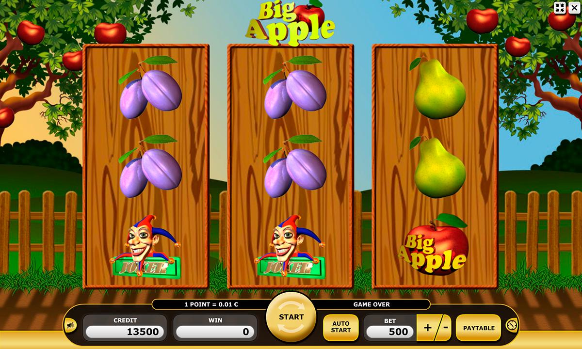 big apple kajot pacanele