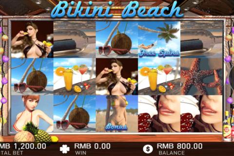 bikini beach gameplay interactive pacanele