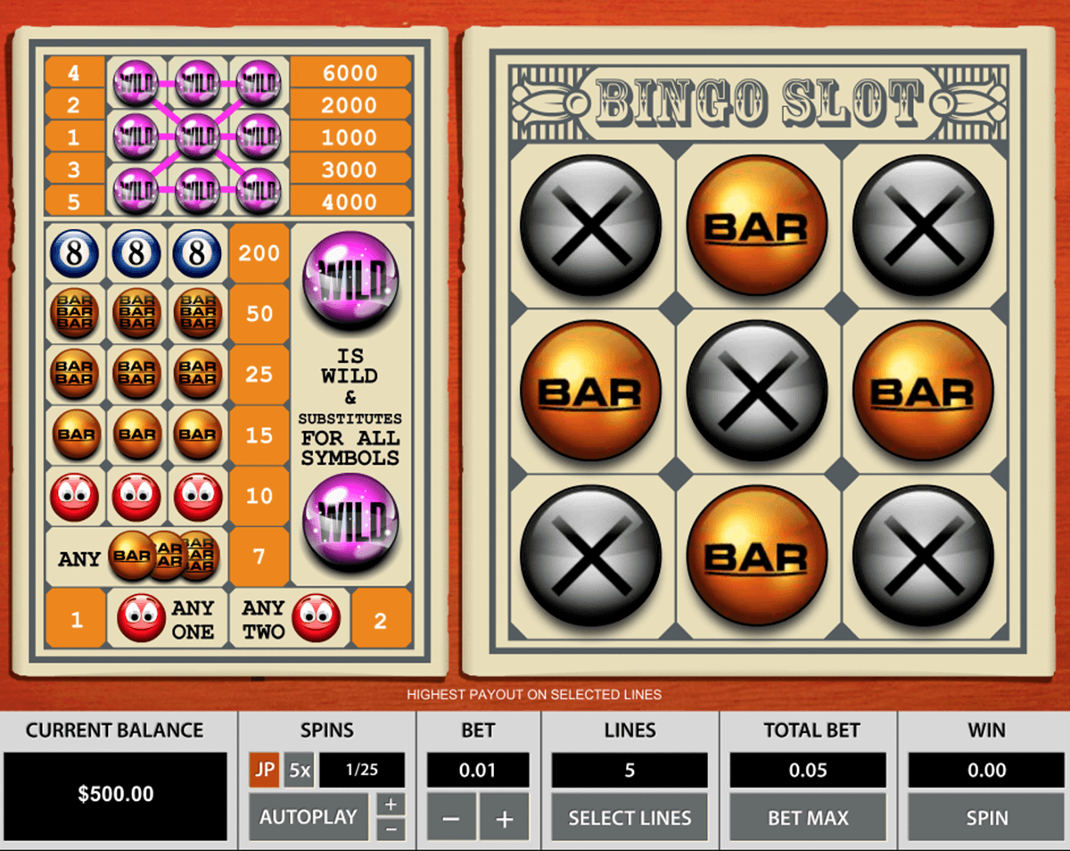 bingo slot 3 reels pragmatic pacanele