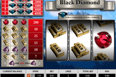 black diamond  reels pragmatic pacanele