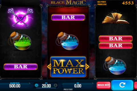 black magic synot games pacanele