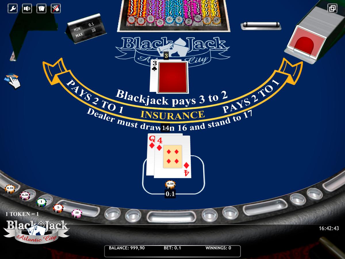 blackjack atlantic city isoftbet online
