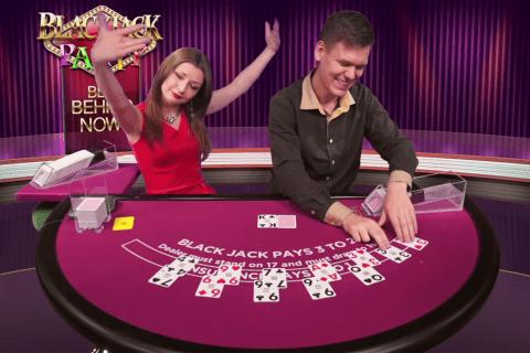 blackjack party evolution gaming online