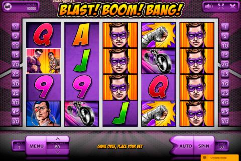 blast boom bang endorphina pacanele