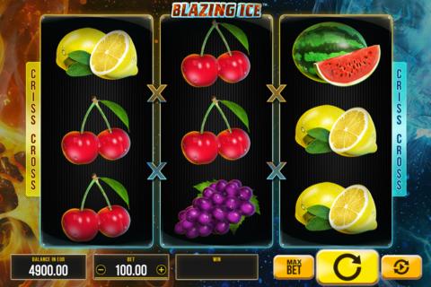 blazing ice synot games pacanele