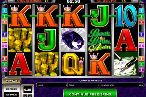 break da bank again microgaming pacanele