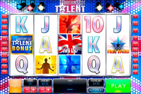 britains got talent playtech pacanele