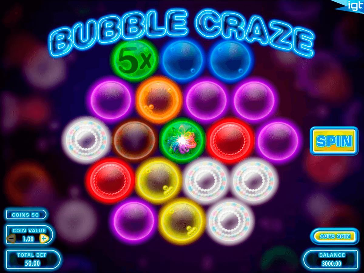 bubble craze igt pacanele