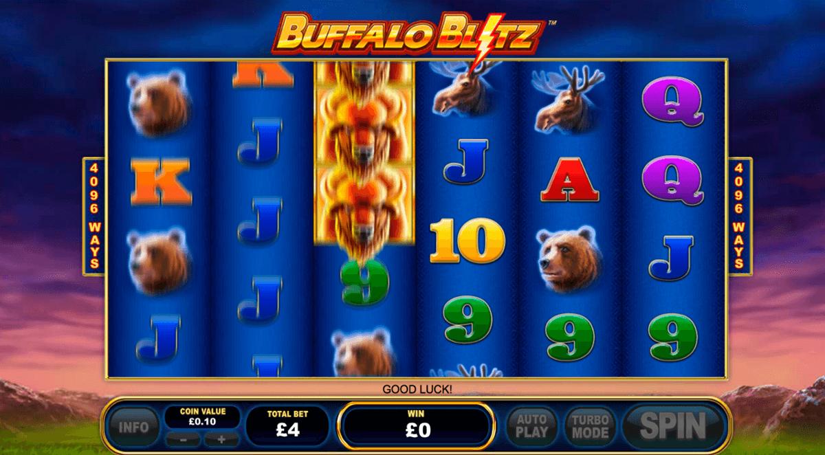 buffalo blitz playtech pacanele
