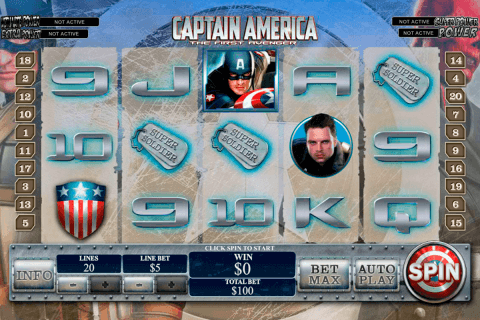 captain america playtech pacanele