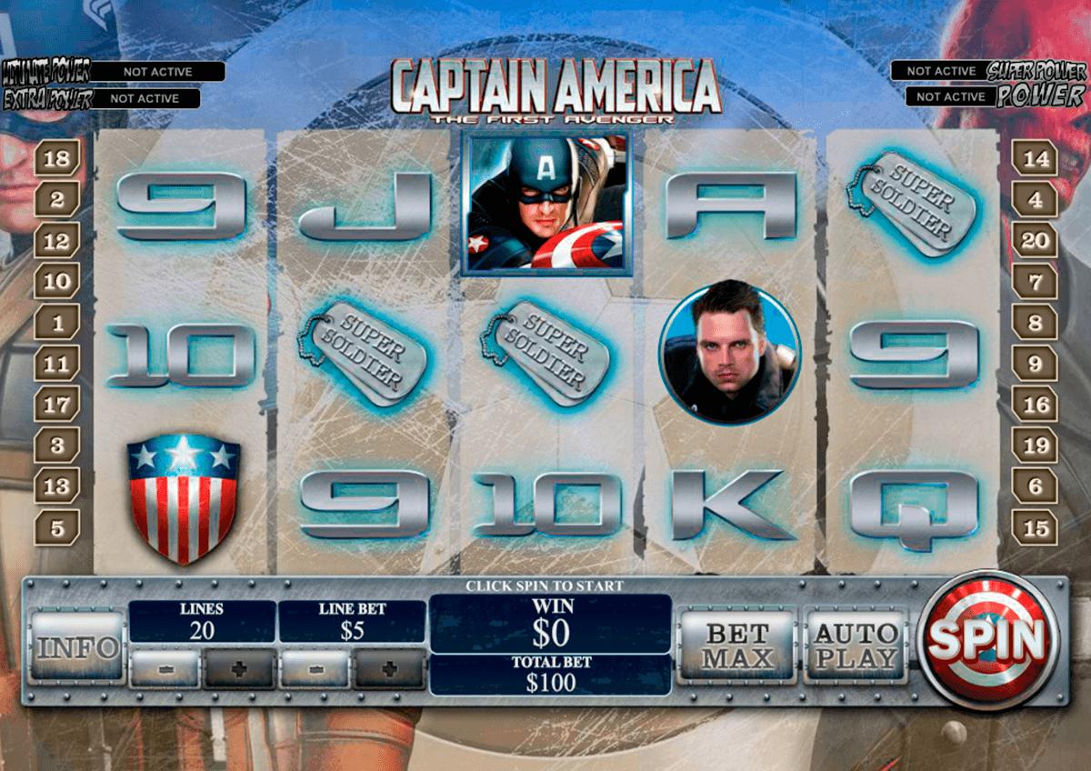 captain america playtech pacanele