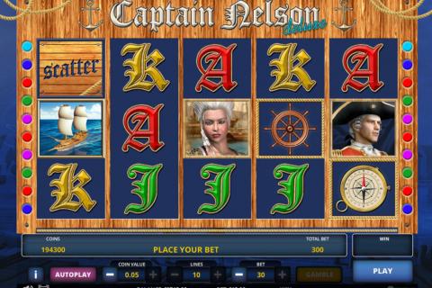 captain nelson delue zeus play pacanele