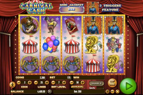 carnival cash habanero pacanele