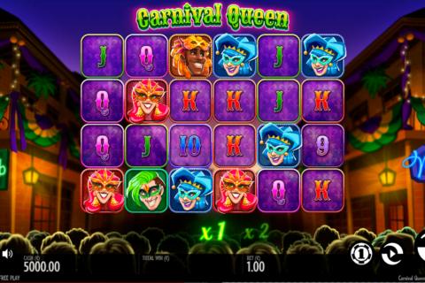 carnival queen thunderkick pacanele