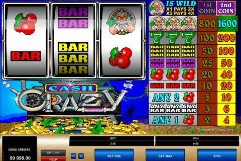 cash crazy microgaming pacanele