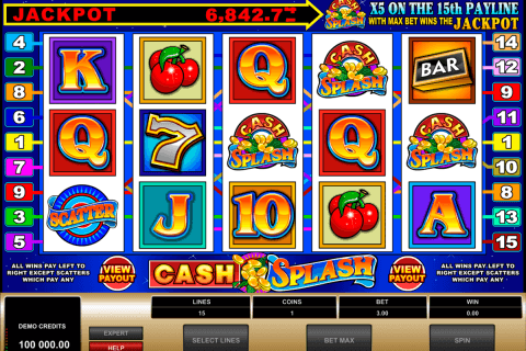cashsplash video slot microgaming pacanele