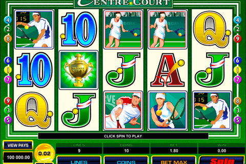 centre court microgaming pacanele