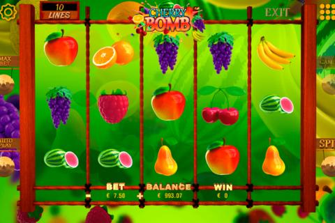 cherry bomb booming games pacanele
