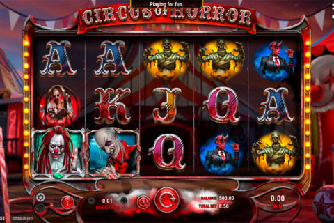 circus of horror gameart pacanele