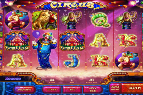 circus playson pacanele