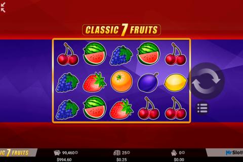 classic  fruits mrslotty pacanele