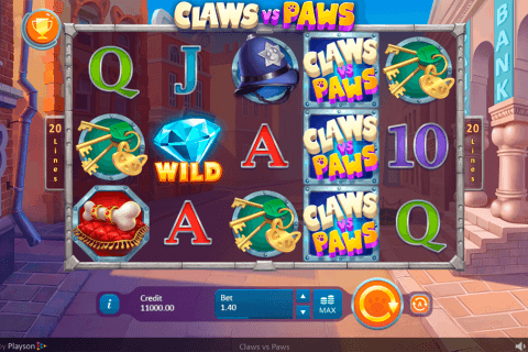 claws vs paws playson pacanele