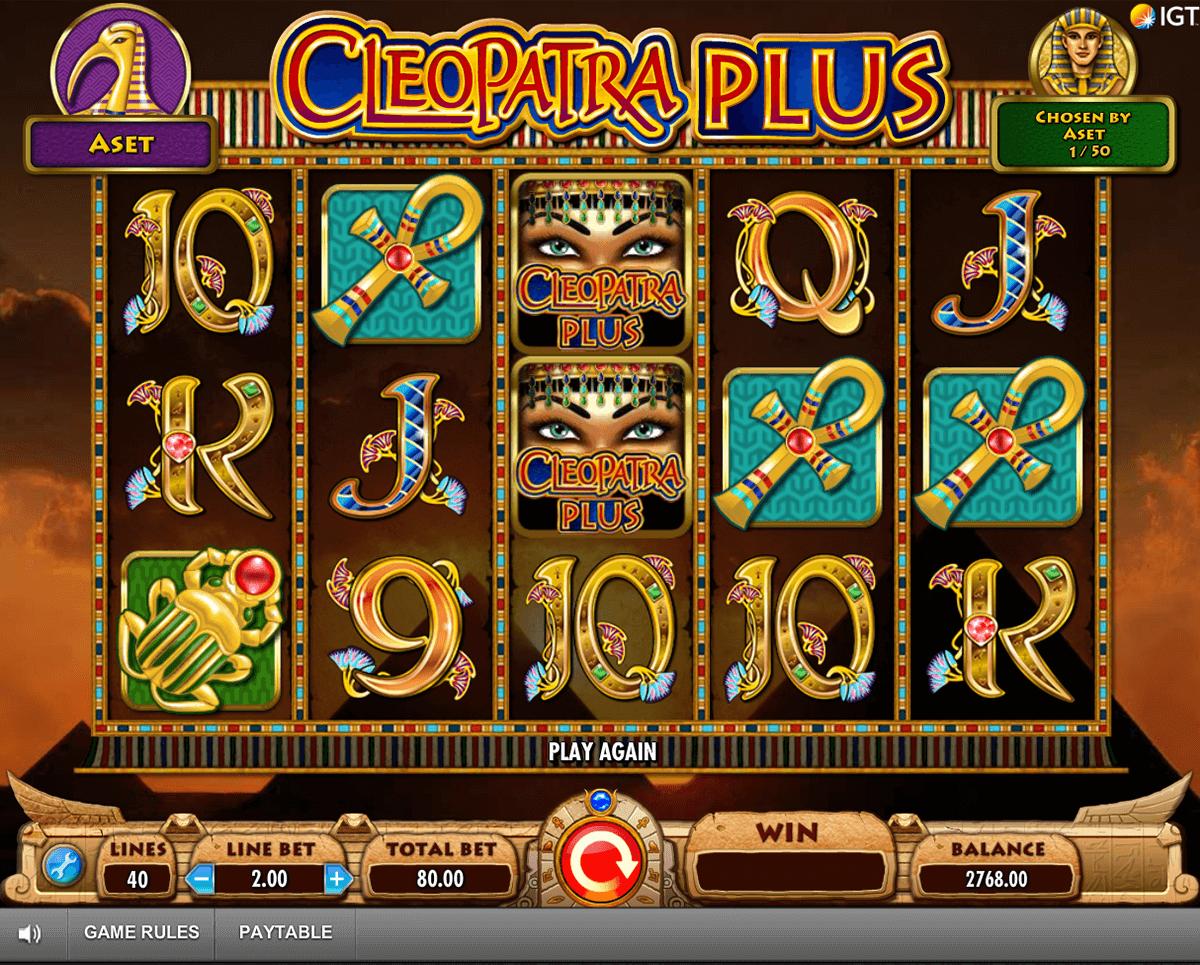 cleopatra plus igt pacanele
