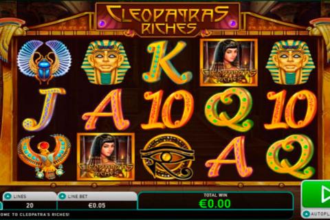 cleopatras riches leander pacanele
